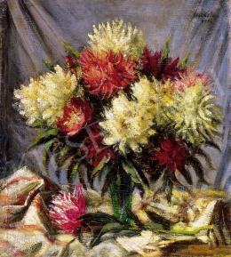 Mikola, András - Still life with flowers