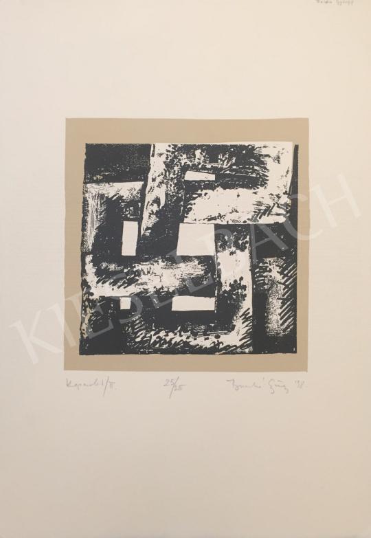 Eladó  Ismeretlen művész olvashatatlan jelzéssel - Kapcsolat/II, 1998 festménye