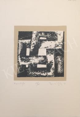 Ismeretlen művész olvashatatlan jelzéssel - Kapcsolat/II, 1998