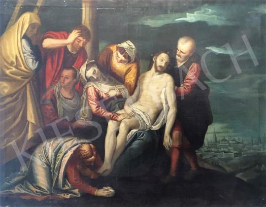 Ismeretlen művész - Krisztus levétele a keresztről festménye
