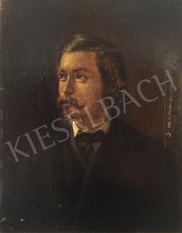 Ismeretlen művész, 19. század utolsó harmada - Ismeretlen férfi bajusszal