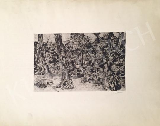 Eladó Scholz Erik - Erdei kompozíció festménye