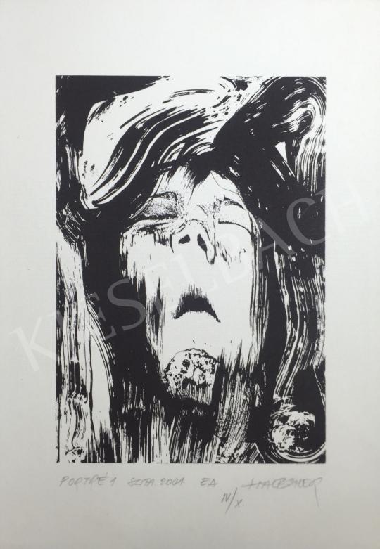 Eladó Halbauer Ede - Portré 1, 2001 festménye