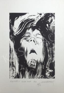 Halbauer Ede - Portré 1, 2001