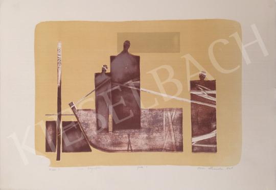 Eladó  Nádas Alexandra - Kikötés I, 2001 festménye