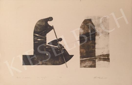 Eladó  Nádas Alexandra - Kikötés (Kötődések), 2002 festménye