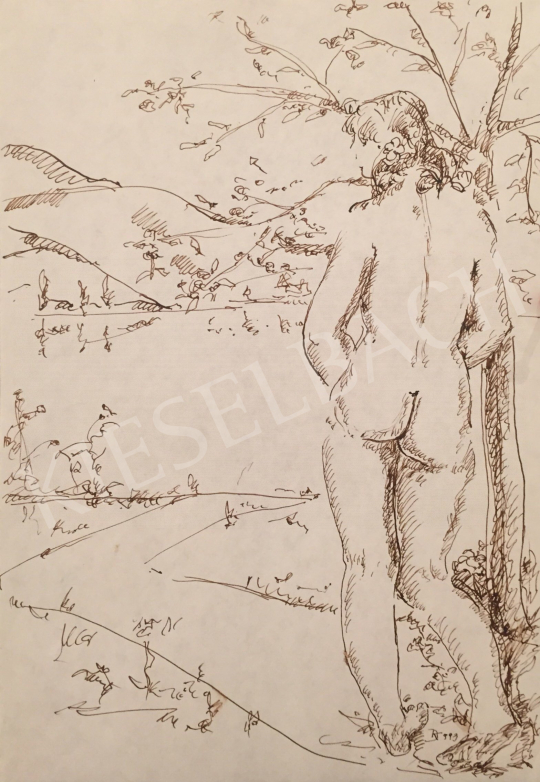 For sale Dániel, Kornél Miklós (Fisch Kornél) - Women Nude, 1993 's painting