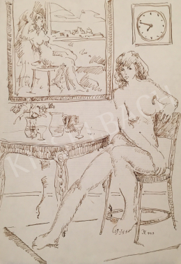 Dániel, Kornél Miklós (Fisch Kornél) - Women Nude in the Room, 1993