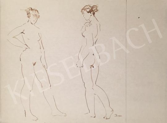 For sale Dániel, Kornél Miklós (Fisch Kornél) - Nude Studies, 1993 's painting