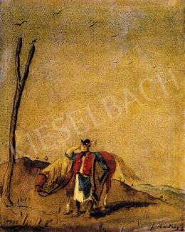 Rudnay, Gyula - Horseman