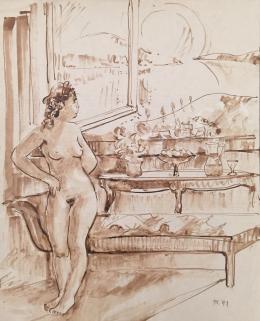 Dániel, Kornél Miklós (Fisch Kornél) - Women Nude in a Room, 1991