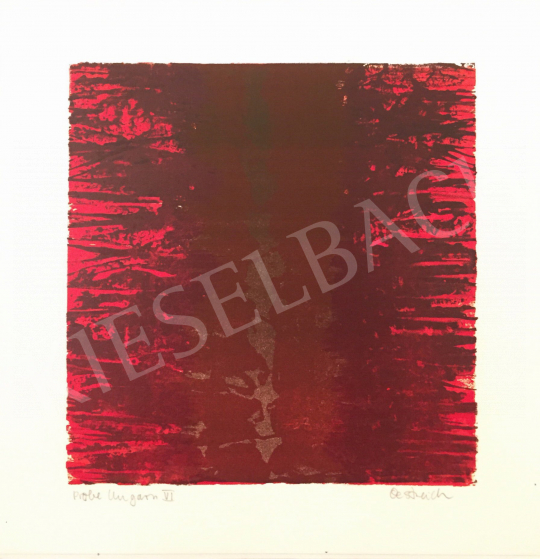 For sale  Unknown Artist with Oestreich Signature - Probe Ungarn VI., 1997 's painting