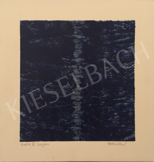 Eladó  Ismeretlen művész Oestreich szignóval - Probe IV. Ungarn, 1999 festménye