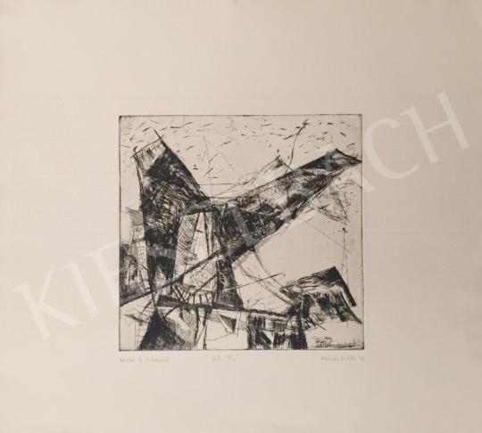 For sale  Miklós Molnár - Attitude II., 1993 's painting