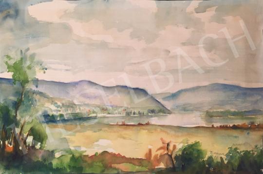 For sale  Toman Gyula - Lake Balaton, 1982 's painting