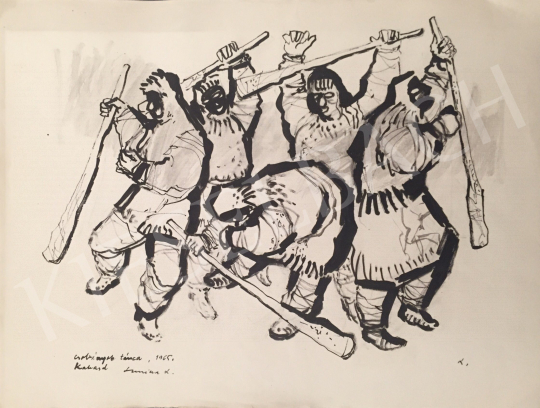 For sale Luzsicza, Lajos - Csobány's Dance, 1965 's painting