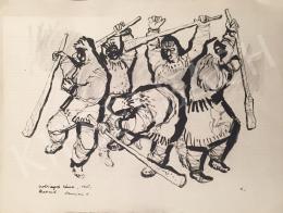 Luzsicza Lajos - Csobányok tánca, 1965