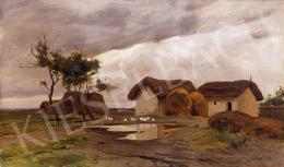 Edvi Illés Aladár - Eső után