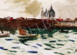 Bernáth Aurél - Csónakok