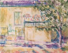 Dániel Kornél Miklós - Utcai látkép, 1993