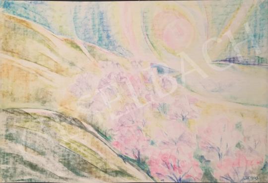 Eladó Dániel Kornél Miklós - Dombos táj, 1993 festménye