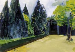 Bernáth Aurél - Parkban
