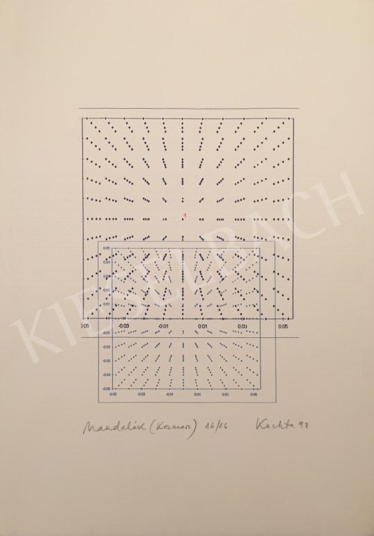 Eladó  Kuchta Klára - Mandalák (Kozmosz), 1998 festménye