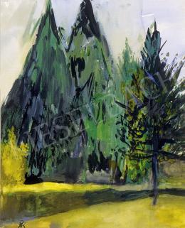 Bernáth Aurél - Erdőrészlet
