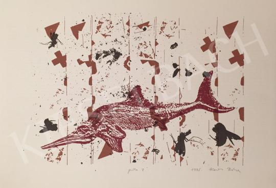 Eladó Kováts Borbála - Kardhal, 1995 festménye