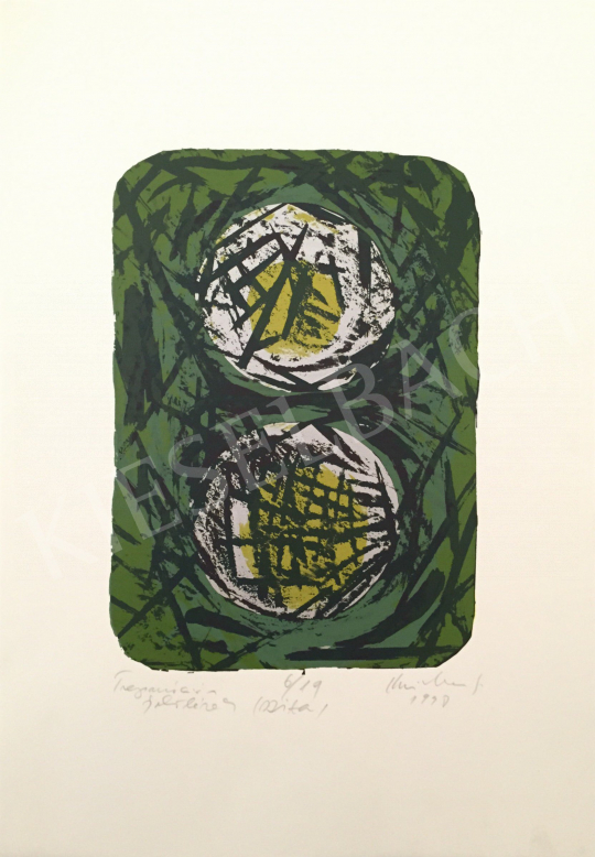 For sale Krizbai, Sándor (Alex) - Trepanation with Markings, 1998 's painting