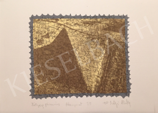 For sale Szőnyi, Krisztina - Stamp Pyramid, 1998 's painting