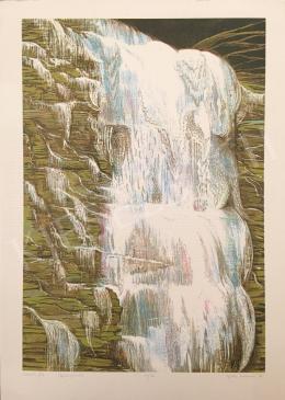 Kádár Katalin - Vízesés III, 1997