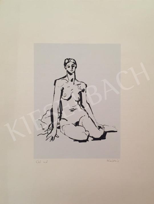 Eladó Kádár György - Ülő nő festménye
