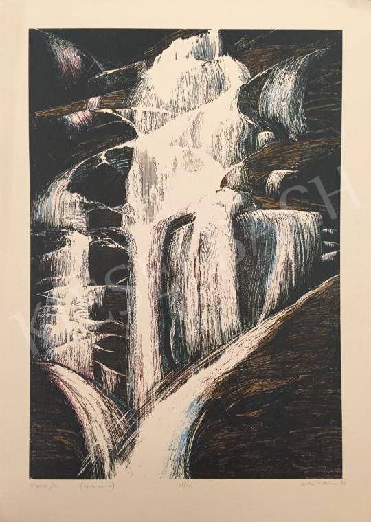 Eladó Kádár Katalin - Vízesés II, 1997 festménye