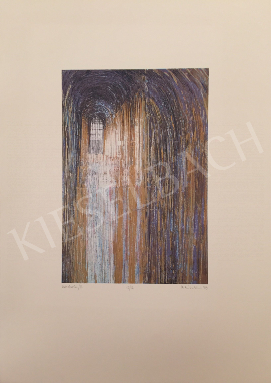 For sale Kádár, Katalin - Cathedral III., 1999 's painting