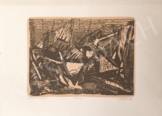 Eladó Butak András - Cold working IV, 1993 festménye