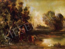 Mészöly Géza - Folyópart (1870-es évek)