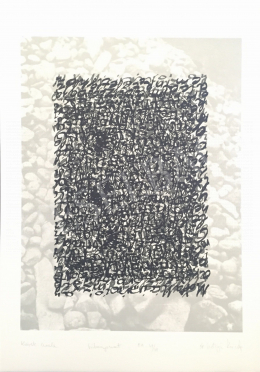 Szőnyi, Krisztina - Letter of Stones, 1998