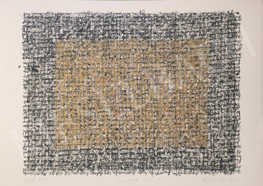For sale Szőnyi, Krisztina - Letter of Layers, 1998 's painting