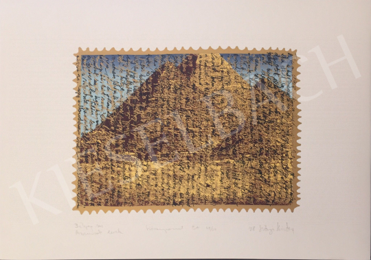 For sale Szőnyi, Krisztina - Letter of Pyramids, 1998 's painting