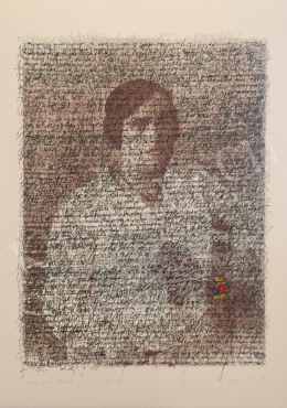 Szőnyi Krisztina - Virágos levél, 1998
