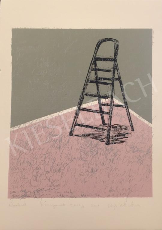 Eladó Szőnyi Krisztina - Létralevél, 2001 festménye