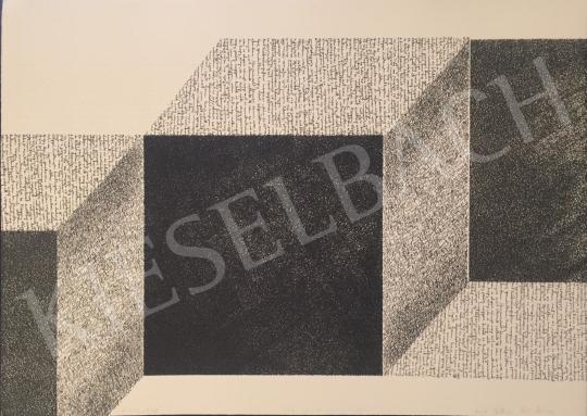 For sale Szőnyi, Krisztina - Letter Cubes, 2002 's painting