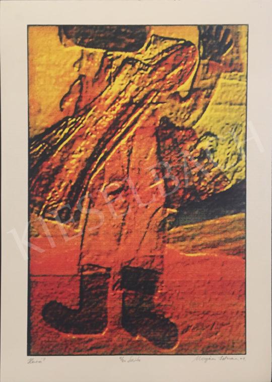 Eladó  Magén István - Hová?, 2001 festménye