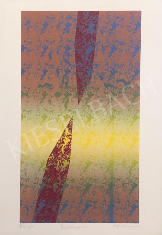 Eladó Magén István - Fényív, 2000 festménye