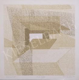 Péli, Mandula - Serigraphy, 1999