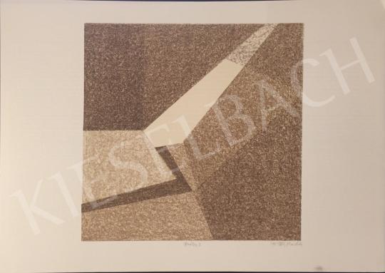 Eladó Péli Mandula - Barna kompozíció, 1995 festménye