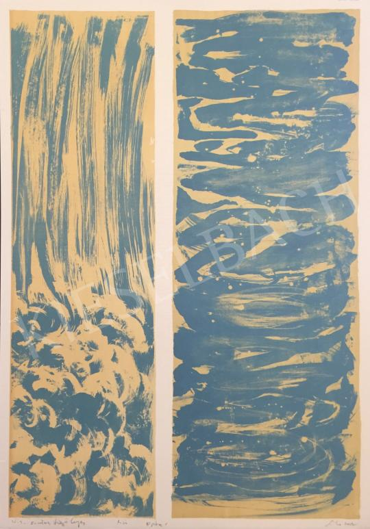 For sale  Sinkó, István - Horizontal, Vertical, 2002 's painting