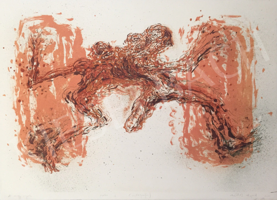 For sale Miklós, Árpád - The Big Jump, 2002 's painting