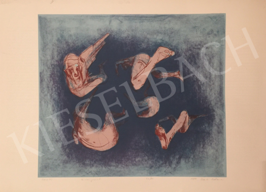 For sale  Germán Fatime - Diving, 1999 's painting